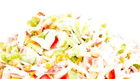 cuisiner crabe la salade de crabe hawaïenne de arcand recettes