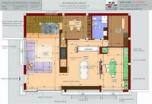 Progettazione Per Un Appartamento Privato A Nerola  Rm    Architetto Stefano Proietti