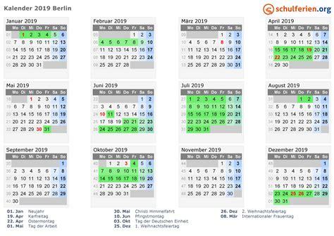 kalender ferien berlin feiertage