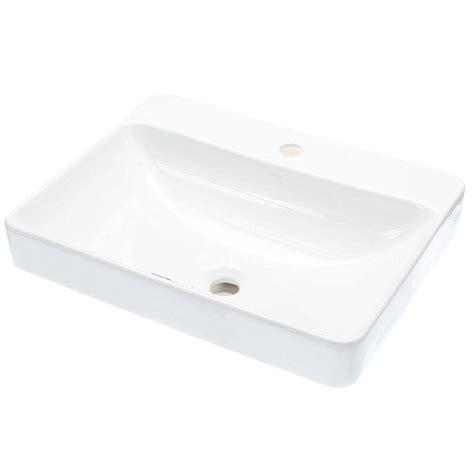 kohler vox vessel sink kohler vox vitreous china vessel sink in white with