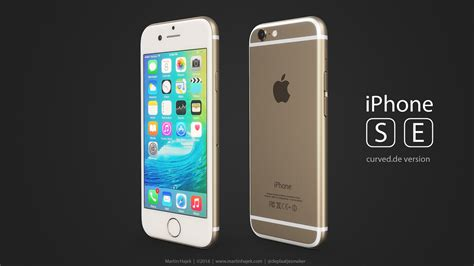 i this phone iphone se concept by martin hajek here is what apple s