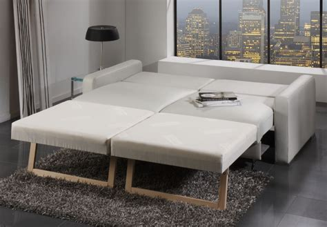 canapé convertible confortable pour dormir canape convertible en cuir et tissu de seanroyale