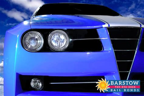 Car Modification Laws In California by California S Car Modification Regulations Barstow Bail Bonds