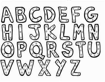 Block Coloring Letter Pages Printable Getcolorings