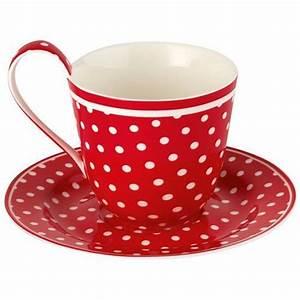 Tasses à Thé : vente de tasse et soucoupe spot red greengate en fa ence mod le ~ Teatrodelosmanantiales.com Idées de Décoration