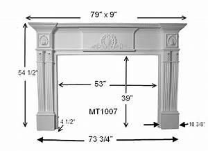 Shell Stone Fireplace Mantel