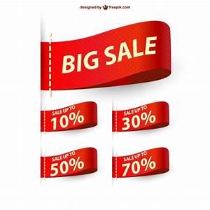Big sale ribbons sale Vector | Free Download