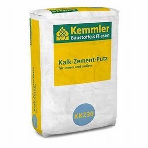 Kalk Zement Putz Glätten : kemmler kalk zement putz 30 kg sack ~ Articles-book.com Haus und Dekorationen
