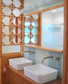 two color kitchen cabinet ideas mid century ranch bathroom remodel midcentury bathroom