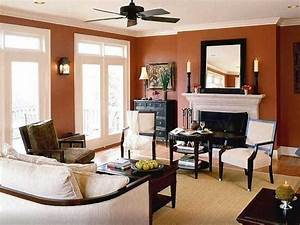 31 living room wall color schemes accent wall living room for Living room dining room paint colors