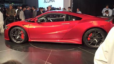 Honda Unveils Highperformance Luxury Sports Car Starting