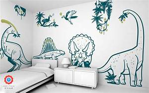 giant dinosaur wall stickers diplodocus for boys bedroom With nice ideas dinosaur decals for walls