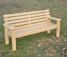 Outdoor Garden Benches Plans