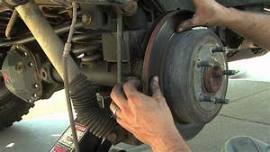 Rear Brake Pad Install - How To