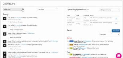 Software Customer Dashboard Stream Activity