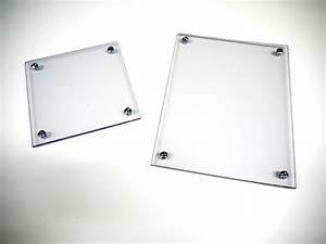 Cadre Entre Deux Verres : nouveau encadrement entre 2 verres acrylique sans cadre ~ Dailycaller-alerts.com Idées de Décoration