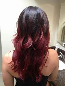 my red ombre hair | My Style | Pinterest | Her hair ...