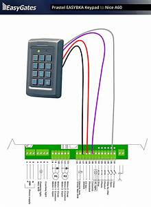 American Access Keypad Wiring Diagram