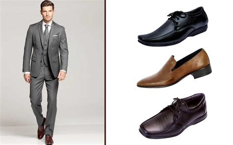 what color shoes to wear with grey suit what color shoes do you wear with a blue suit style guru