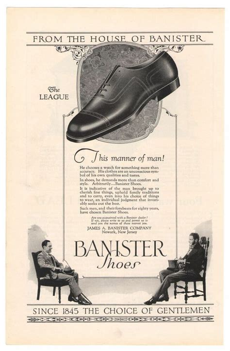 banister shoes banister mens shoes 20s league chairs advertisement