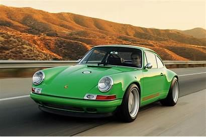 911 Singer Porsche Retro Mixes Different Future