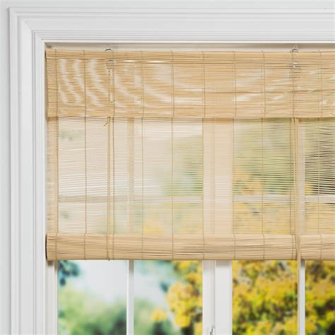 roll up bamboo blinds versailles roll up bamboo blinds 36x72 quot 91937 save 56