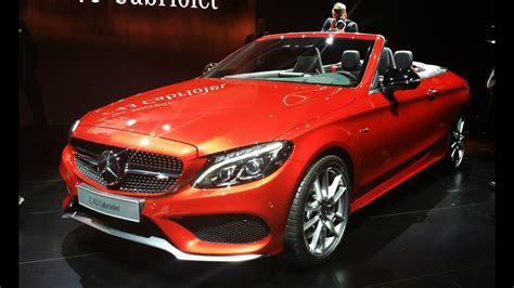 Mercedes C Class Convertible 2017 by 2017 Mercedes C Class Convertible Look 2016 Geneva