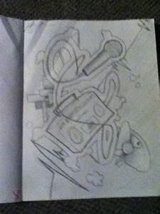 Boombox Graffiti by Kittylitter090 on DeviantArt