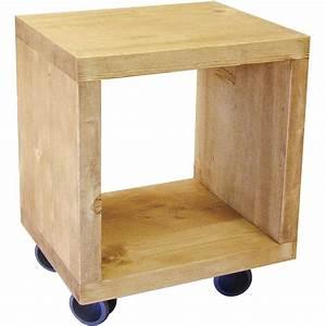 étagère à Roulettes : etag re 1 cube sur roulettes ~ Teatrodelosmanantiales.com Idées de Décoration