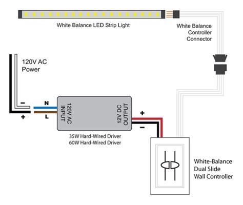 Light White Balance Led Strip Lighting Wiring Diagrams