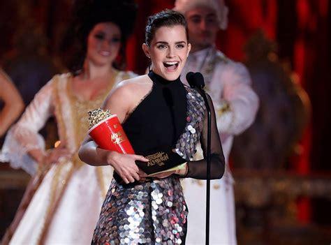 Emma Watson Accepts First Ever Genderless Acting Award