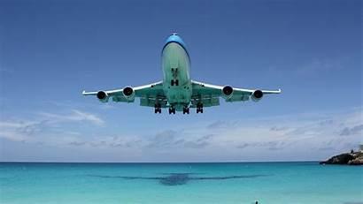747 Boeing Wallpapers Plane Aircraft Landing B747