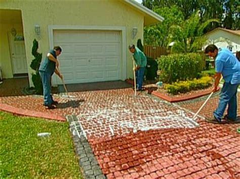 lay  cobblestone driveway cobblestone driveway