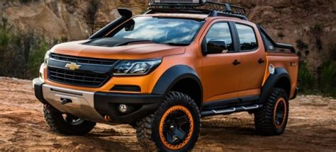 2019 Chevrolet Colorado Zr2, Concept, Release, Price