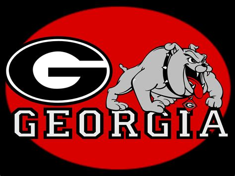 Georgia Bulldogs Logo Wallpaper
