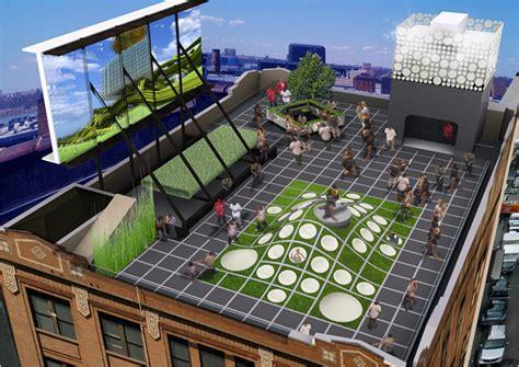 mini creates rooftop event space  manhattan top speed