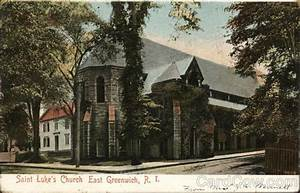Saint Luke's Church East Greenwich, RI Postcard