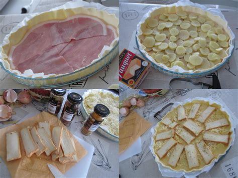 tarte jambon pommes de terre et maroilles la petite