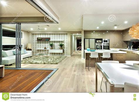 maison et cuisine interieur maison moderne salon cuisine