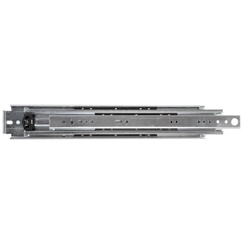 heavy duty drawer slides home depot prime line 20 in white bottom mount drawer slides set r