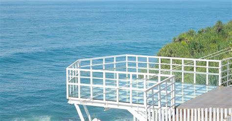 spot foto hits terbaru  jembatan kaca pantai nguluran
