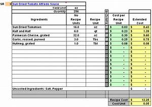 Expense Report Spreadsheet Template 10 Food Cost Spreadsheet Excel Spreadsheets Group