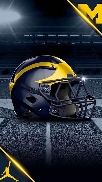 Michigan Football Wolverines Helmet Desktop Wallpapers Nike
