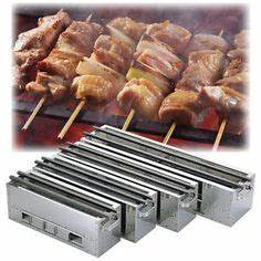 Japanese Yakitori Charcoal Grill 30 6 35 4 x 7 0 x H6 3in ...