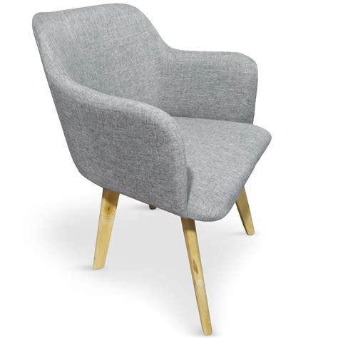 chaise tissus chaise tissu gris kandi lestendances fr