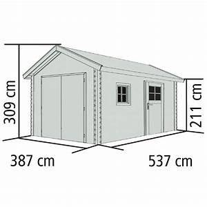 40mm To Cm : karibu blockbohlengarage mit satteldach 40 mm naturbelassen ~ Frokenaadalensverden.com Haus und Dekorationen