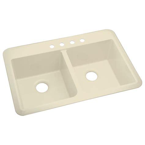 composite kitchen sinks undermount shop sterling slope 2 drop in or undermount composite