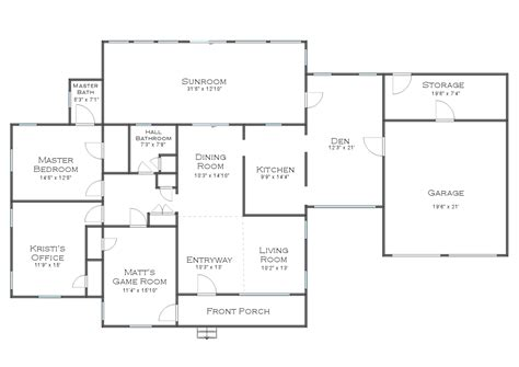 The Finalized House Floor Plan (plus Some Random Plans And