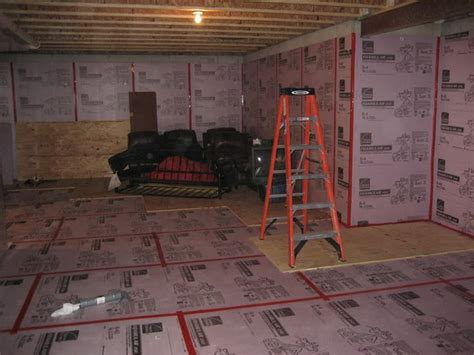 affordable basement subfloor options mike holmes
