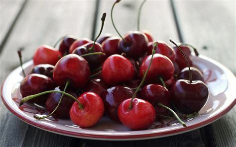 cuisine cerise cherry food wallpaper 1680x1050 24032